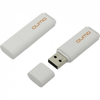 Флэш-диск QUMO 08 Gb Optiva-01 White