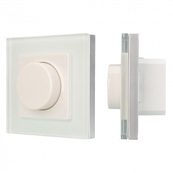 Панель Rotary SMART-P89-DIM White (100-240V, 1.2A, TRIAC, 2.4G)