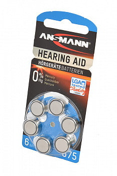 Элемент питания ANSMANN Zinc-Air 5013253 675 UK BL6
