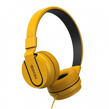 Наушники Microlab K763D с микрофоном yellow, 20Hz - 20KHz
