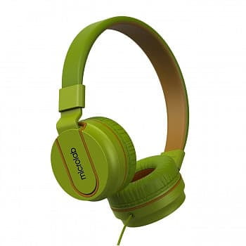 Наушники Microlab K763D с микрофоном green, 20Hz - 20KHz