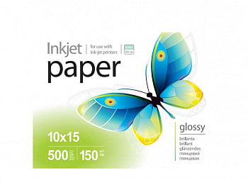 Фотобумага PGE150100A4 PrintPro Photo paper glossy 150g/m, A4, 100pc.